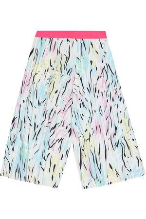 Kenzo Pantalones plisados estampados