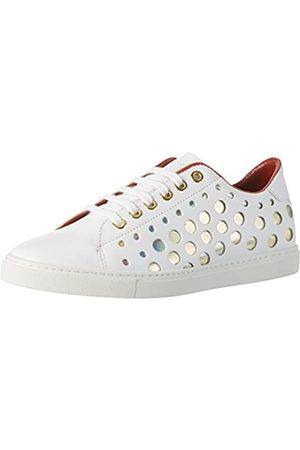 liebeskind LF173310 Calf, Zapatillas para Mujer, (Ivory White)