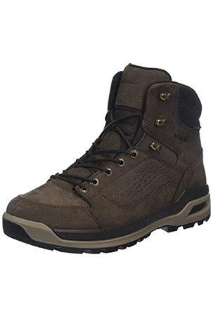 Lowa Locarno Ice GTX Mid, Zapatos de High Rise Senderismo para Hombre, (Marronescuro 0493)