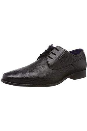 Bugatti 311697033900, Zapatos de Cordones Derby para Hombre, (Schwarz 1000)