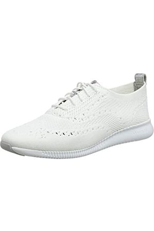 Cole Haan Damen 2.Zerogrand Stitchlite Oxfords Weiß Knit/Ch Argento Metallic/Optic White Opt Kt/Arg/Wht)