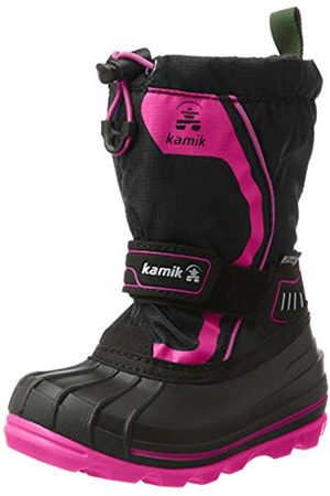 Kamik Snowcoast4, Botas de Nieve para Niñas, (Black Noir/Magenta Bma)