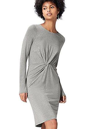 FIND Vestido con Pliegues para Mujer