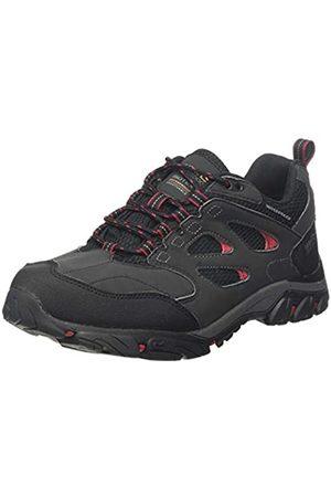 Regatta Holcombe Iep Low Rise Hiking Boot, Zapatillas de Senderismo para Hombre, (Ash/Rio Red 21n)