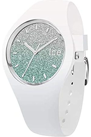 Ice-Watch ICE lo White turquoise - Reloj bianco para Mujer con Correa de silicona - 013430 (Medium)