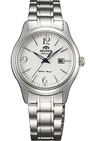 Orient Reloj Analógico para Mujer de Automático con Correa en Acero Inoxidable FNR1Q005W0