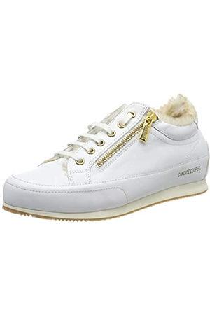 Candice Cooper Rock Deluxe Zip, Zapatos de Cordones Derby para Mujer, (Bianco 000)