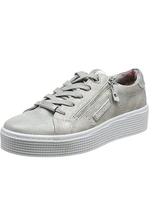 Dockers 41ab212-680550, Zapatillas para Mujer, (Silber 550)