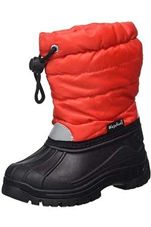 Playshoes Zapatos de Invierno Classic, Botas de Nieve Unisex Niños, (Rot 8)