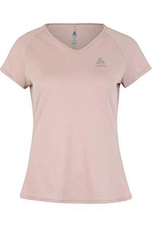 Odlo T-Shirt s/s Crew Neck Ceramicool Camiseta, Mujer