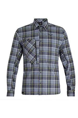 Salewa Fanes Flannel 4 Pl M L/S SRT Pantalones, Hombres