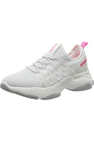 Dockers 46ac202-700596, Zapatillas para Mujer, (Weiß/Neon Pink 596)