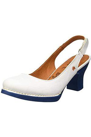 Art 1066 Grass Harlem, Zapatos de tacón con Punta Cerrada para Mujer, (White/Jeans White/Jeans)