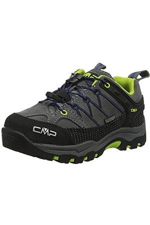 CMP Rigel, Zapatos de Low Rise Senderismo Unisex Niños, (Graffite-Marine 35ud)
