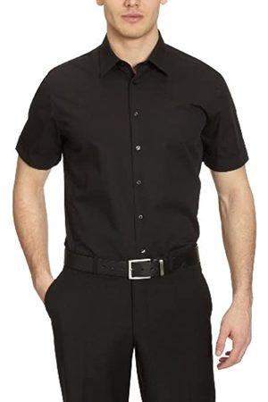 Seidensticker Camisa slim fit de manga corta para Hombre