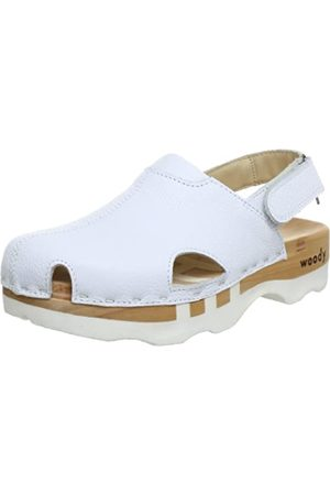 Woody London, Zuecos para Mujer, (Weiss)