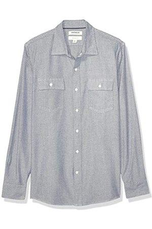 Goodthreads Slim-Fit Long-Sleeve Plaid Herringbone Shirt Button-Down-Shirts