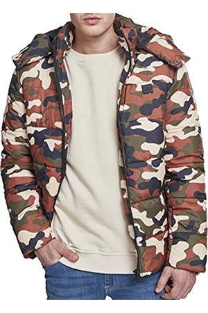 Urban classics Hooded Camo Puffer Jacket Chaqueta L para Hombre