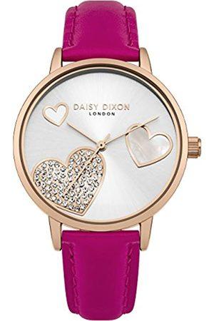 Daisy Dixon Reloj Análogo clásico para Mujer de Cuarzo con Correa en Cuero DD076PRG