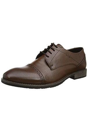 Hush Puppies Craig Luganda, Zapatos de Cordones Derby para Hombre, (Brown)