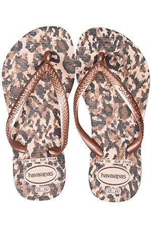 Havaianas Slim Animals, Chanclas para Niñas, (Ballet Rose 0076)