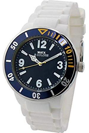 Watx Reloj Analógico para Adultos Unisex de Cuarzo con Correa en Caucho RWA1621-C1512