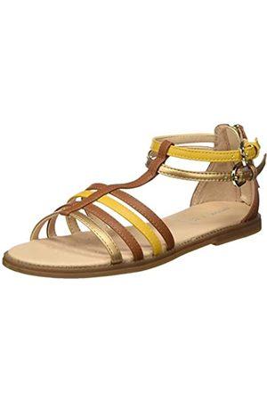 Geox J Sandal Karly Girl D, Sandalias de Gladiador para Niñas, (Caramel C5102)