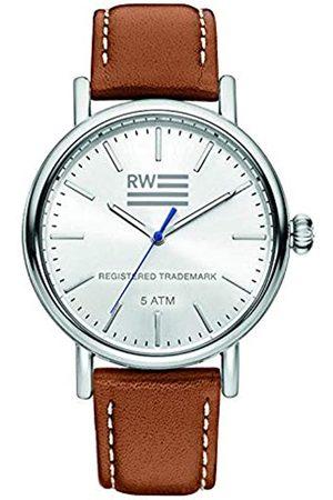 River Woods Reloj Analógico para Hombre de Cuarzo con Correa en Cuero RW420029