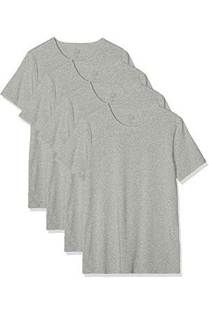 MERAKI Camiseta interior - para hombre Grey (Mid Grey) 32 (Manufacturer Size:S)