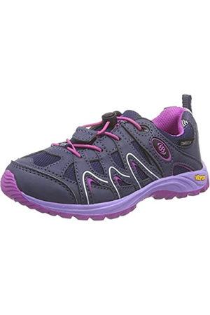 Eb & Vloed Vision Kids, Zapatos de Low Rise Senderismo para Niñas, Morado (Lila/Pink)
