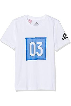 adidas Little Boy Short Sleeve Graphic tee T-Shirt, Bebé-Niños