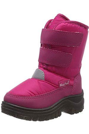 Playshoes Zapatos de Invierno Gancho y Bucle, Botas de Nieve Unisex Niños, (Pink 18)