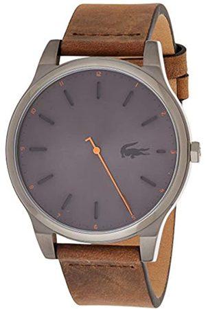Lacoste Reloj Analógico para Hombre de Cuarzo con Correa en Cuero 2010968