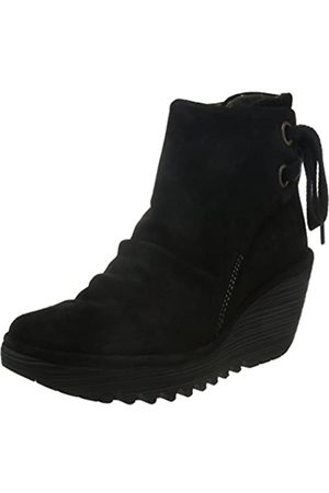 Fly London Yama, Botines plataforma para Mujer, (Black 006)
