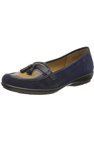 Hotter Alice, Mocasines para Mujer, (Navy/Check 367)