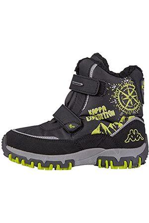 Kappa DENTON II TEX K Footwear Kids Botas unisex para niños, (1133 black/lime)