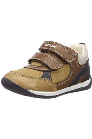 Geox Baby Each Boy, Zapatillas para Bebés, (Caramel/Navy C5GF4)