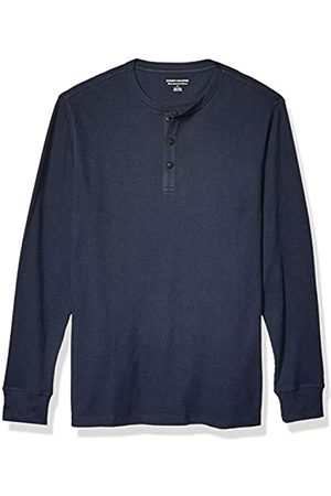 Amazon Slim-Fit Long-Sleeve Waffle Henley Shirts
