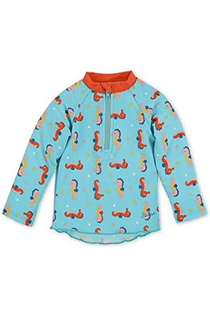 Sterntaler Jungen Schwimmshirt, Langarm-Badeshirt, UV-Schutz 50+, Alter: 9-12 Monate, Größe: 80