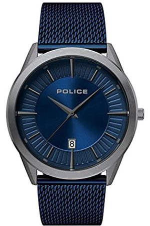 Police Reloj Analógico para Hombre de Cuarzo con Correa en Acero Inoxidable PL15305JSU.03MM