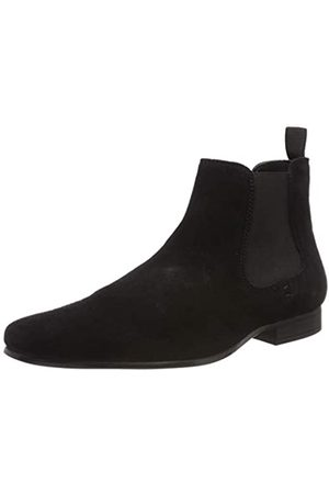 Red Tape Stanway, Botas Chelsea para Hombre, (Black 0)