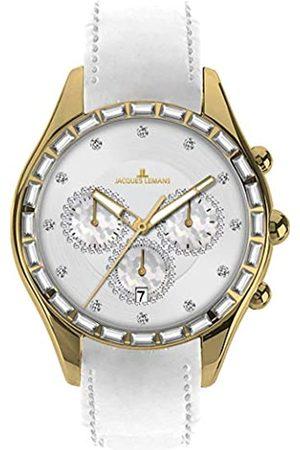 Jacques Lemans Reloj para Mujer de Cuero