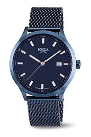 Boccia Reloj Analógico para Hombre de Cuarzo con Correa en Acero Inoxidable 3614-05