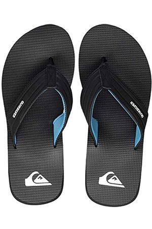 Quiksilver Crystal Oasis, Zapatos de Playa y Piscina para Hombre, (Black/Black/Blue Xkkb)