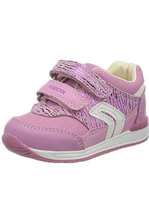 Geox Rishon Bebé Niña S, Zapatos para Bebés, (Dk Pink/Fuchsia C8f8n)