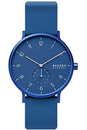 Skagen Reloj Analógico para Unisex Adultos de Cuarzo con Correa en Silicona SKW6508