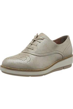 Tamaris 1-1-23752-24 Leder, Zapatos de Cordones Derby para Mujer