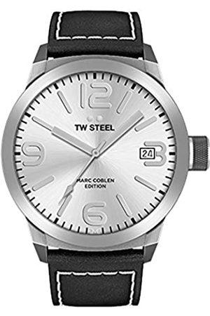 TW steel TWSteelRelojAnalógicoparaHombredeCuarzoconCorreaenCueroTWMC24