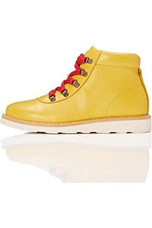 RED WAGON Botas de Cordones para Niños, (Yellow)