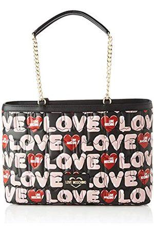 Love Moschino Jc4226pp0aMujerBolsos totesMulticolor (Black Multicolore)12x23x36 Centimeters (W x H x L)